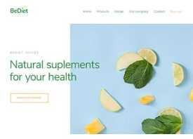 betheme health demo website